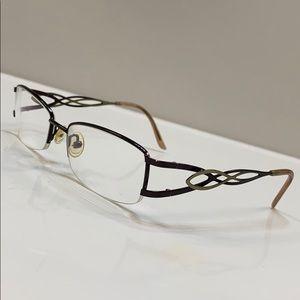 Eyeglass Frame Made in France Brigitte Half Rim